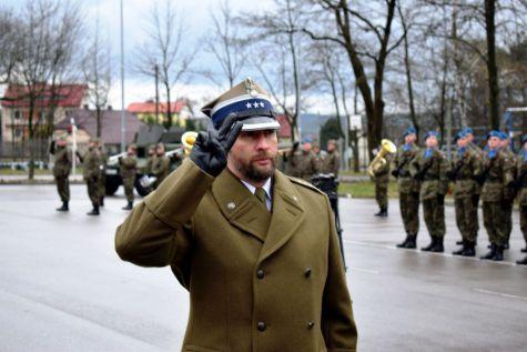 Nowy dowódca na kieleckiej Bukówce